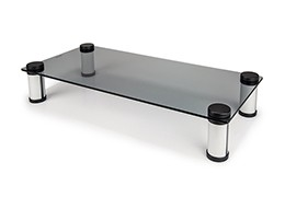Tempered Glass Desk Stand