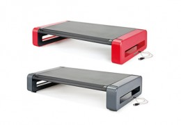 DELUXE MONITOR STAND WITH USB HUB