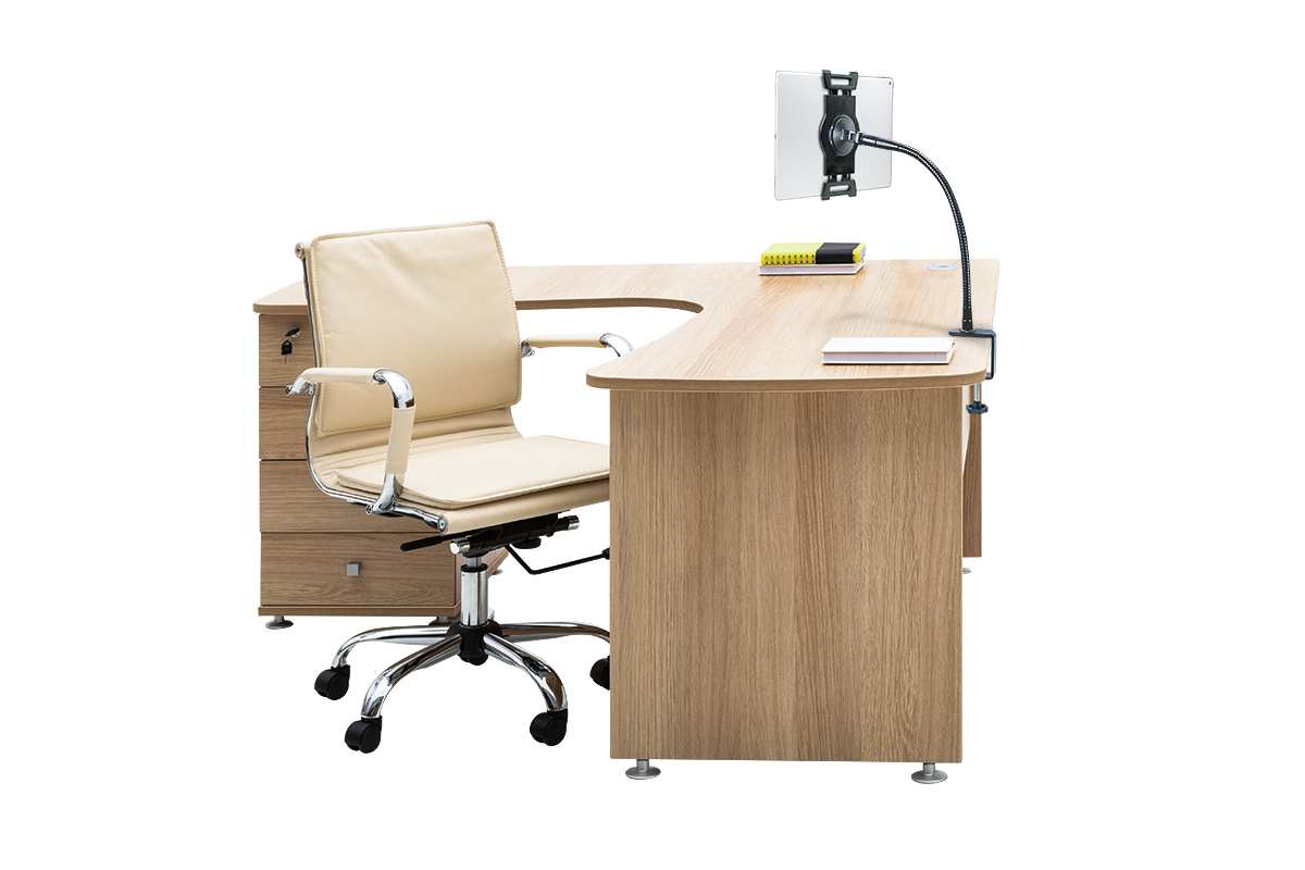Swell Universal Tablet Gooseneck Desk Clamp Gmtry Best Dining Table And Chair Ideas Images Gmtryco